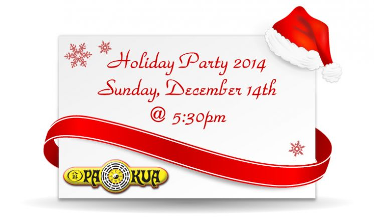 PaKua Holiday Party 2014