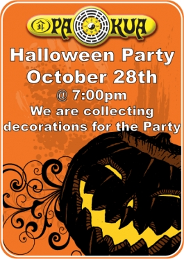 PaKua Halloween Party