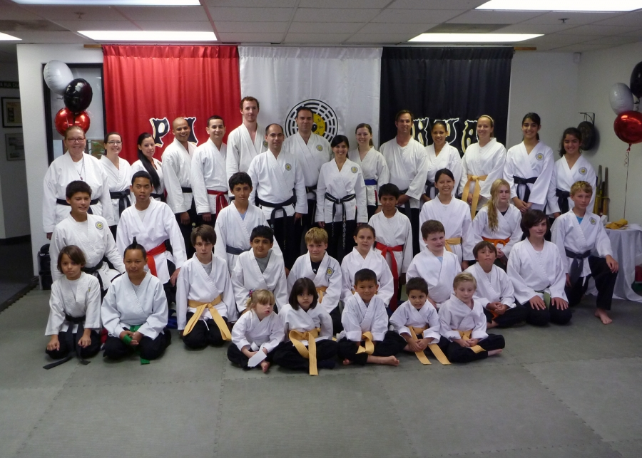 PaKua Belt Ceremony in Huntington Beach